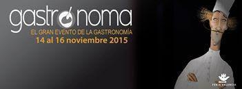 Gastrónoma 2015, Valencia (España)