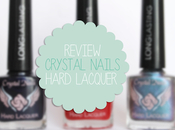 Review: Esmaltes longlasting Crystal Nails.