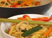RECETA: pasta verduras