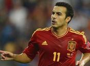 Delanteros partiendo banda para selección española