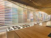 Diseño interiorismo tienda pigmento artes Tokio