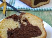 Bizcocho vainilla chocolate (Chocolate marble cake)