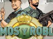 """""""Olmos Robles: pareja ley"""" Súper policías Ezcaray"""""""