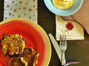 Buñuelos verduras, harina garbanzos avena (sin huevos frituras)