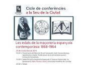 """""""Las edades masonería"""", ciclo conferencias Castellón"""