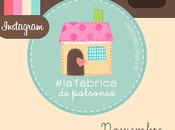#lafabricadepatrones Noviembre: Entre Costuras