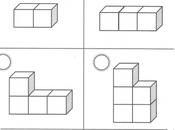 Conteo cubos: Razonamiento matemático años