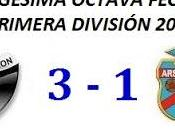 Colón:3 Arsenal:1 (Fecha 28°)