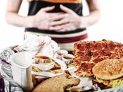 Comer hasta quedar satisfecho atracones comida