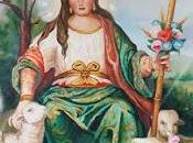 Iconografía Pastora Cantillana: Copiando lienzo Ermita