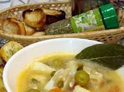 """Burrida ligure"" sopa pescado italiana"