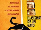 """Póster trailer español comedia asesinato gato"""""""