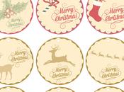 Imprimible etiquetas navidad gratis