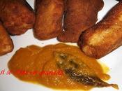 Pechuga empanada rellena cheddars