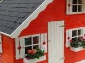 Resultado instalación propio cliente casita madera infantil Comunidad Valenciana