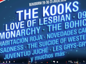 Festival 2016: Kooks, Monarchy, Habitación Roja, Novedades Carminha, Suicide Western Culture...