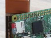 Raspberry Zero computadora solo dólares!