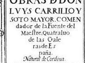 "[Humor Poesía] Hoy, ""Amor, déjame, Amor; queden perdidos"", Luis Carrillo"