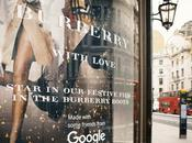 "Burberry invita clientes protagonizar película festiva través ""The Booth"" accionado Google"