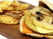 Hamburguesas veganas garbanzo calabacín