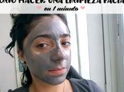 Cómo hacer limpieza facial minuto