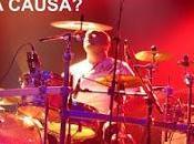 Rosendo baterista Mariano Montero sortean batería esta gira para luchar contra cáncer