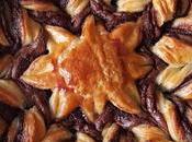 Estrella hojaldre chocolate