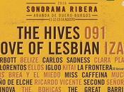Artista para Sonorama Ribera 2016: Love Lesbian, Carlos Sadness, Izal, Hives,