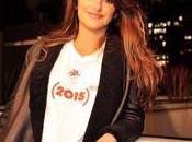 actriz española Penélope Cruz posa Nueva York para lucha contra SIDA