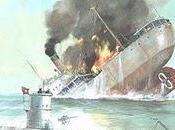 Gran Bretaña pierde 100.000 toneladas mercantes tres días 03/12/1940.