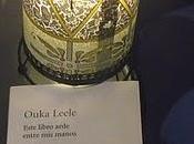 'Este libro arde entre manos' Ouka Leele