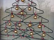 Decoración navidad: árbol perchas