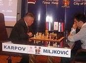 Karpov gana match contra Miljkovic