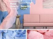 Rosa cuarzo serenidad, colores Pantone para 2016