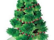 Árbol navideño cristal mágico hecho casa