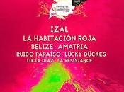 Festival Sentidos 2016: Izal, Habitación Roja, Belize, Amatria, Ruido Paraíso...