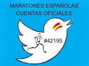 cuentas Twitter Maratones Españolas