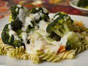 Pasta brócoli bechamel