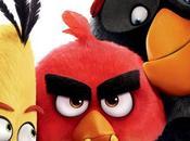 """Pajaro negro, pajaro amarillo nuevo simpático póster """"angry birds: película"""""""