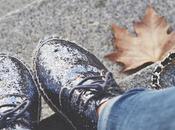 Kävely glitter espadrilles
