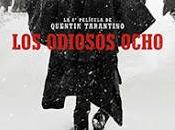 ODIOSOS OCHO. Cartel español primeras fotos. ESTRENO CINES ENERO.