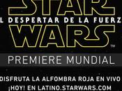 Mira aquí cobertura premiere Star Wars: Force Awakens