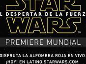 Mira aquí cobertura premiere Star Wars: Force Awakens