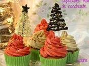 Cupcakes navideños mantequilla cacahuetes