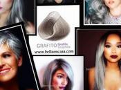 """Logra cabello gris platinado Grafito"""""""