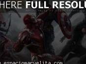Capitán América: Civil War. Espectacular diseño conceptual batalla