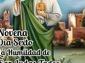 Sexto: Humildad Judas Tadeo.