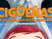 Afiche tráiler película animada #CigueñasLaHistoriaQueNoTeContaron
