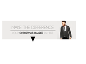 Make difference. your christmas blazer here