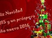 Feliz Navidad 2015 Próspero Nuevo 2016 para nuestros seguidores